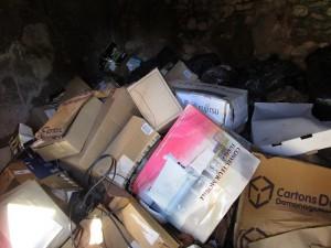 entreprise de débarras de cave